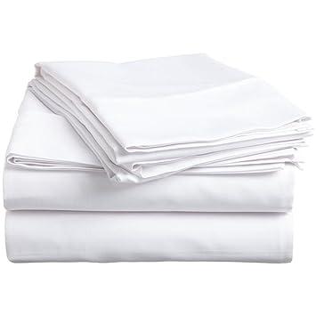 Hachette - Sábana Bajera Ajustable (100% algodón Egipcio, 400 ...