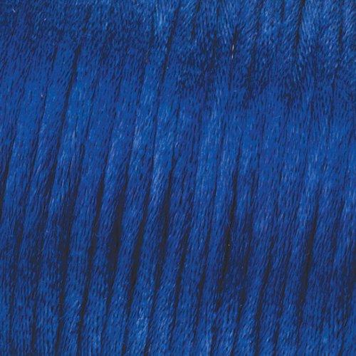 6 m blau Flechtkordel Satin 1,5 mm EFCO