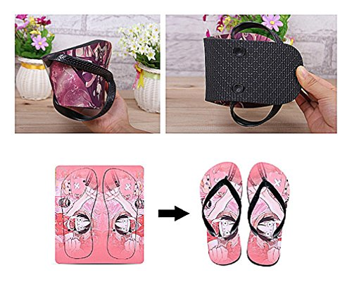 Bromeo The Future Diary Anime Unisex Flip Flops Chanclas 293