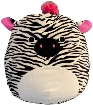 Squishmallow Kellytoy 16 Tracey The Zebra with Pink Ears New Assortment 3 Mane /& Tail Super Soft Plush Toy Animal Pillow Pal Pillow Buddy Stuffed Animal Birthday Gift Holiday