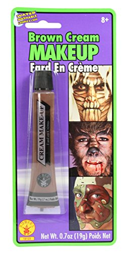 Cream Costume Makeup Face Body Paint Tube (Brown)