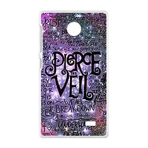 Pierce Vell Design Fashion Comstom Plastic case cover For Nokia Lumia X
