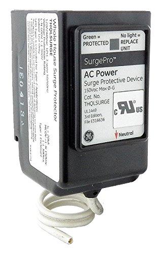 GE THQLSURGE 1-Phase 1 Inch Plug-In Surge Protector 120-240 Volt Surgepro™ BuyLog by GE