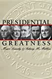 img - for Presidential Greatness by Landy, Marc, Milkis, Sidney M.(March 1, 2000) Paperback book / textbook / text book
