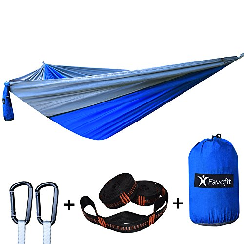Favofit Camping Hammock Straps Combined
