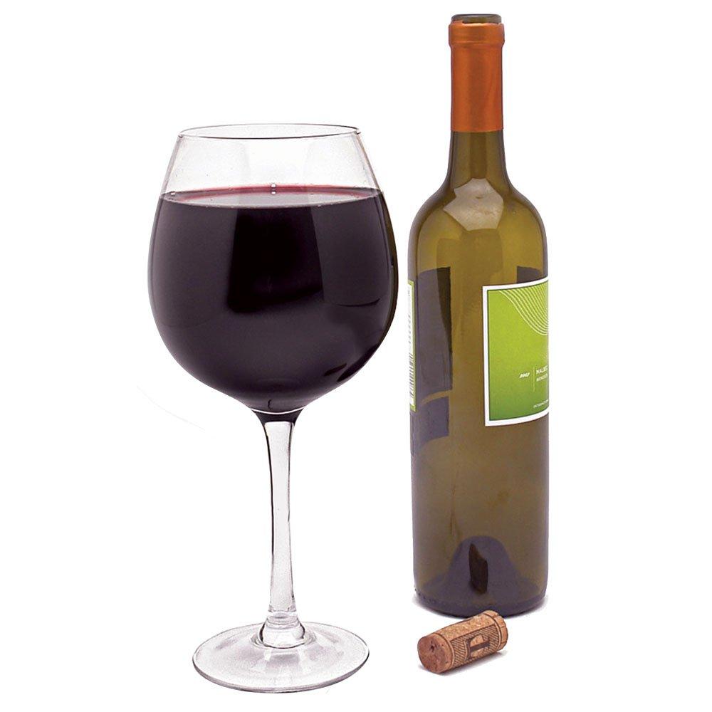 amazon com dci xl wine glas unique giant wine glass holds an