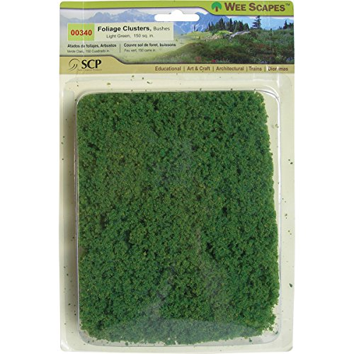 SCP Foliage Cluster Bush, Light Green from SCP