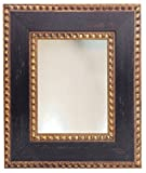 Large Rustic Spanish Style Framed Wall Mirror Distressed Brown and Gold 8x10 11x14 16x20 24x26 24x36 20x40 30x36 30x40 36x48 (36x48)