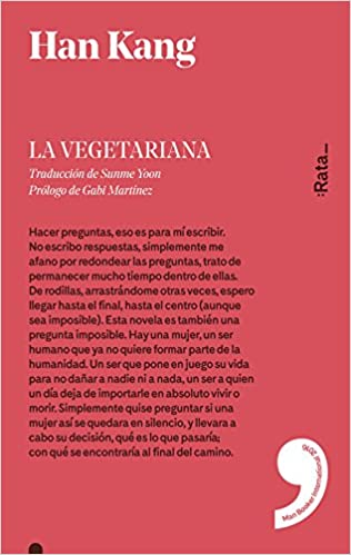 La vegetariana: 12 (rata/5): Amazon.es: Han Kang, Martínez, Gabi ...