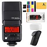 GODOX TT350C 2.4G HSS 1/8000s TTL GN36 Camera Speedlite for Canon Mirrorless digital