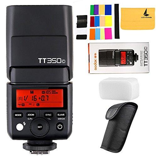 GODOX TT350C 2.4G HSS 1 / 8000s TTL GN36 Camera Speedlite Compatible Canon Mirrorless Digital
