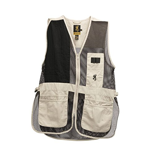 Browning Trapper Creek Vest, Sand/Black, Large (Black Hunting Vest)