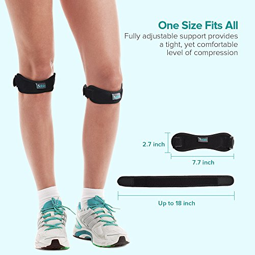 Knee-Brace-for-Pain-Relief-2-Pack-FDA-Registered-Patella-Knee-Strap-Support-for-Running-Hiking-Arthritis-ACL-Pain-Relief-by-Sable