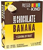 Pressed by KIND Fruit Bars, Chocolate Banana, No Sugar Added, Non GMO, Gluten Free, 1.34oz, 12 Count