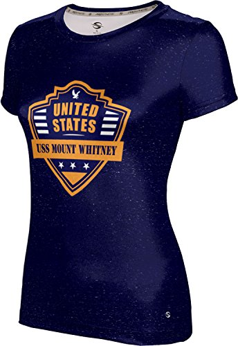 Price comparison product image ProSphere Girls' USS Mount Whitney Military Heather Tech Tee (Medium)