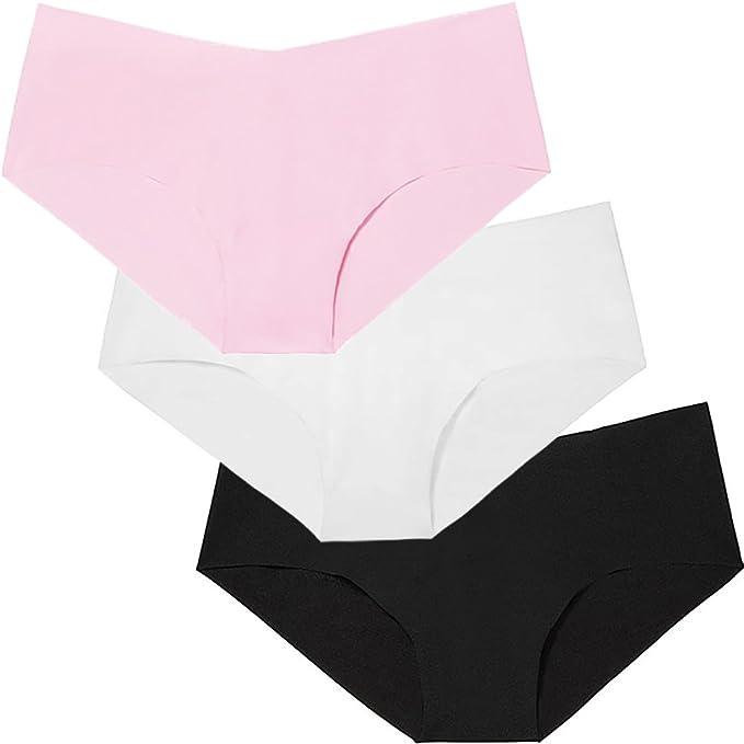 Victoria s Secret 3 para mujer sin costuras bragas