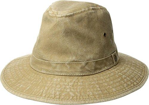 Pendleton Men's Canvas Indy Hat, Tan, Large