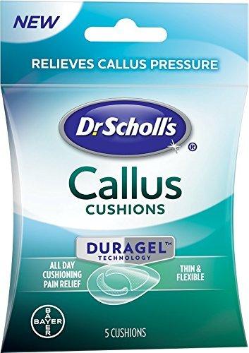 Dr Scholl's Duragel Callus Cushion, 5 Count Per Pack (3 Packs)
