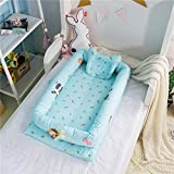 Abreeze Baby Bassinet for Bed -Zoo Design Baby