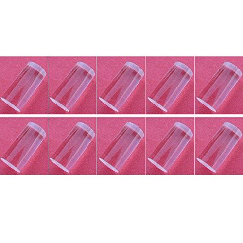 10pcs K9 Glass Cylinder Line Lens 120° for laser module For Horizontal line Φ5×7mm