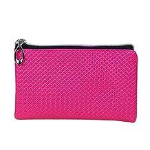 ABC® Women Fashion Leather Wallet Zipper Purse Lady Long Handbag Clutch Bag