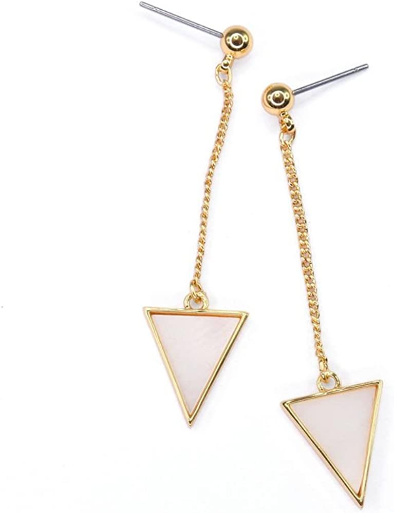 Thirty seconds to mars jewelry Symbol air earrings Geometric earrings minimalist triangle earrings Minimal earrings triad earrings
