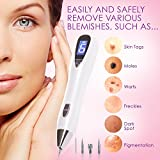 Dermasmoothe Pro Portable Mole Removal Pen Kit   Perfect Skin Tag Remover, Warts, Nevus, Dark Spots, Freckles, Tattoo   6-Gears, USB Rechargeable, LCD Display   Facial Skin Care Tool, Spot Eraser Pro