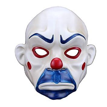 Gfdhj Resina Máscara de Halloween Payaso Máscara de Ladrón Joker Película Triste: Amazon.es: Hogar