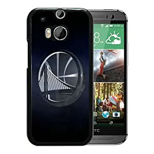 Newest And Fashionable HTC ONE M8 Case Designed With Golden State Warriors Black HTC ONE M8 Screen Cover High Quality Cover Case