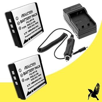 Amazon.com: Dos Halcyon 1800 mAh batería de repuesto de ...