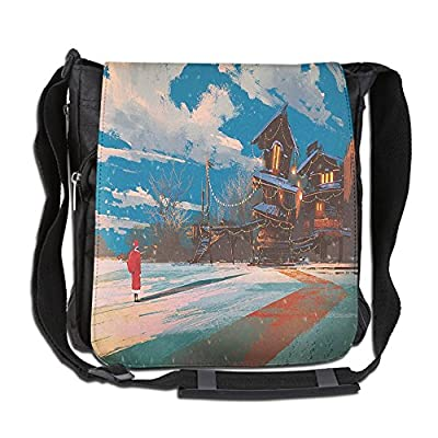 CafePress Vintage Paris Eiffel Tower Unique Messenger Bag Canvas Courier Bag