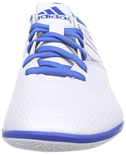 adidas Messi 15.3 IN - Botas para hombre Blanco / Azul / Negro