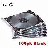 WIRELESS_ACCESSORY  Amazon, модель Yens CD Slim Slim CD Jewel Cases, Black, 100 Piece, артикул B00HMCFPLI
