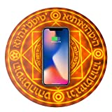 SUBAIHE Magic Array Wireless Charger Ultra Slim Wireless Fast Charger Induction Charger Compatible with iPhone X/XS/MAX/8/8 Plus/Galaxy Note 9/S9/S9 Plus/Note 8/S8 Edge (No AC Adapter) (5w)
