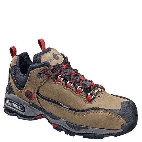 Nautilus 1392 ESD Safety Toe Athletic Shoe, Moss,16 E US ()