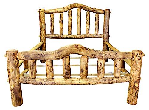 King Aspen Log Bed - 3