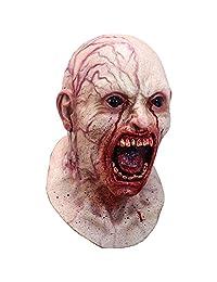 Infected Adult Latex Mask Zombie Apocalypse Diseased Blood Horror Halloween New