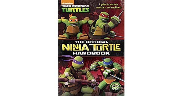Amazon.com: The Official Ninja Turtle Handbook (Teenage ...