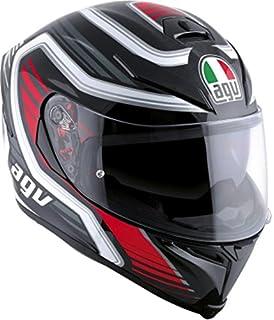 AGV K-5 S Race Adult Helmet - Black Red / Medium/Large