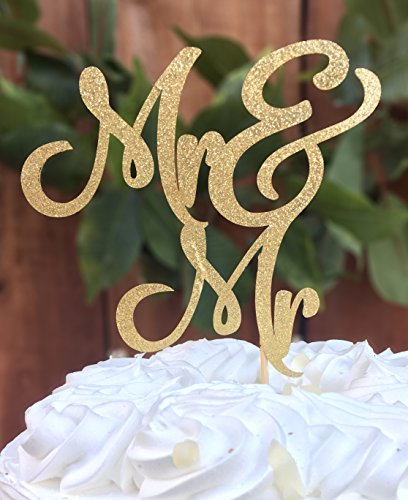 Mr & Mrs cake topper prime - Cake topper, Wedding cake topper, Round Cake Topper, wedding , wedding decorations. By Dos Chonguitos