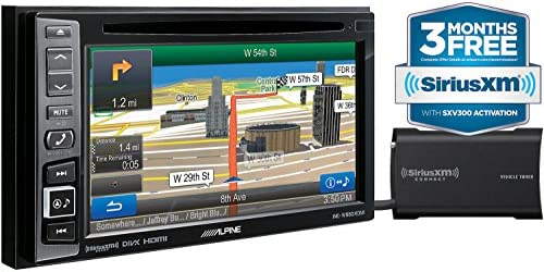 Alpine INE-W960HDMI Audio Video Nav System with Sirius XM SXV300 tuner