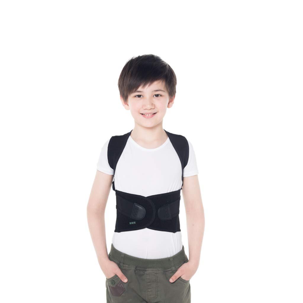 LZLBBJ Posture Correction with Hunchback Correction, Student Child Anti-Humpback Correction Belt Correction Posture Correction Kyphosis Back Correction Belt (Size : XXL: 89cm(Belt Length))