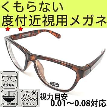 Bivouac Bivouac Glass ビバーク 曇らないメガネ Dm Bekko べっ甲 度付き 近視用めがね くもり止め 曇り止め 眼鏡