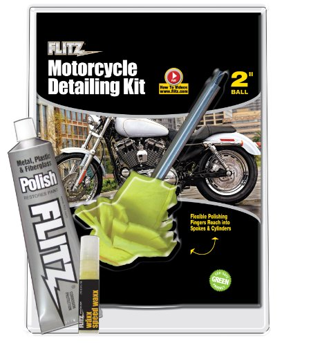 Flitz CY 61501 Mixed Motorcycle Detailing Kit
