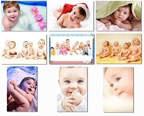 9x Babyhood Baby Kids Boys Child Cute Mother Mom Mama Pregnancy Wall Silk Poster