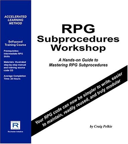 RPG Subprocedures Workshop by Rochester Initiative