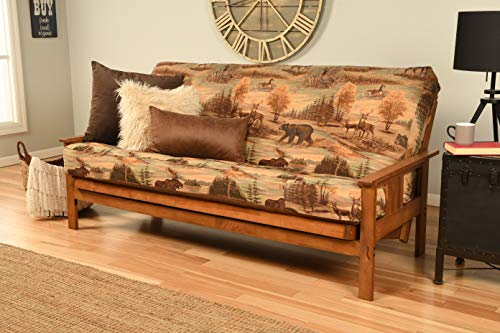 Kodiak Furniture Monterey Futon Set with Barbados Finish, Full, Canadian from Kodiak Furniture