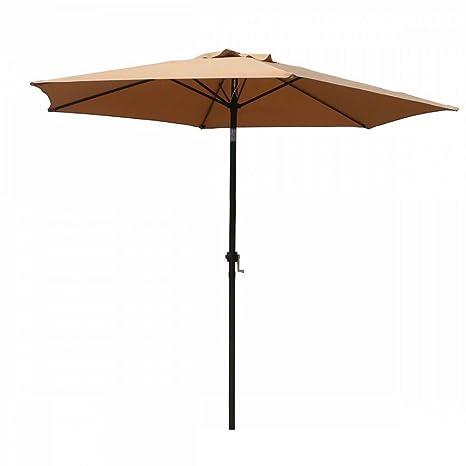 Amazon Com Fdw Patio Umbrella 9 Aluminum Outdoor Patio Market