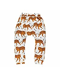Mary ye Baby Boys Girls Cartoon Print Harem PP Leggings Ankle Pants