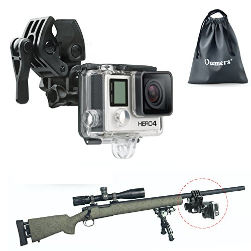 Universal-Camera-Clamp-Mount-Set-Oumers-Fixing-Clip-Mount-Kit-For-Gun-Fishing-Rod-Bow-Fixing-Clip-For-GoPro-Hero-HD-Hero-4-Hero-3-Hero-3-Hero-2-Hero-1-GoPro-Camera-Accessories